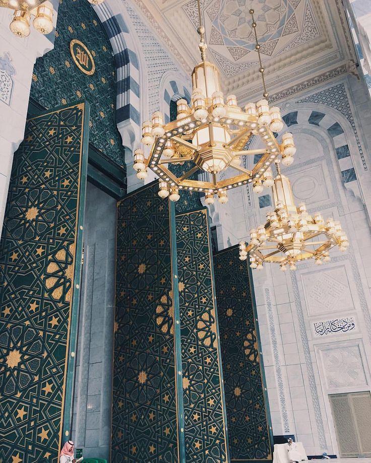 "islamicthinking:  ""Huge doorway entrances to Masjid-Al-Haram, Makkah.  """