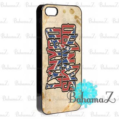 New Rare Lynyrd Skynyrd Rock Band Logo iPhone 5 5S Case | Bahamaz - Accessories on ArtFire