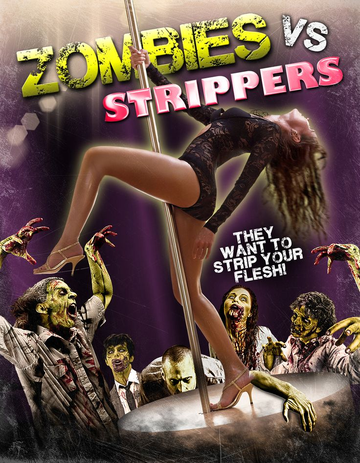 """""""zombies vs strippers"""" dvd cover - Google Search"""