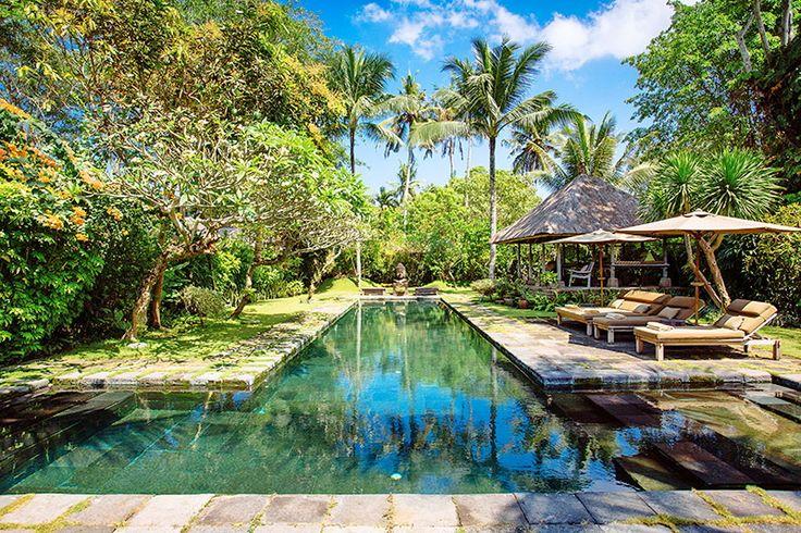 Villa Belong Dua | 2 bedroom | Seseh, 15 minutes from Canggu, Bali #swimmingpool #exterior #garden #villa #bali #luxury #villa #holiday