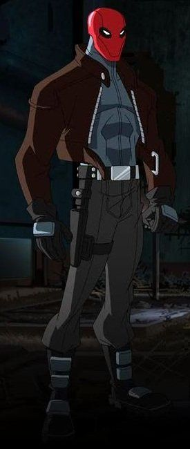 Red Hood (voiced by Jensen Ackles!) in Batman: Under the Red Hood