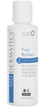 Pore Refiner Acne & Pore Control Toner Containing a multiplex of botanical extracts and pore clarifying ingredients, Pore Refiner is a powerful tool -protects from sebum and grime, while exfoliating dead skin cells on the surface. Benefits •Refines the appearance of pores •Unclogs and prevents clogged pores •Soothes & calms irritated skin •Botanical extracts provide antioxidant properties •Have antiseptic, antimicrobial and antifungal properties •Suitable for acne treatment