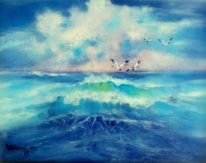 Seas of life by Judith Allison