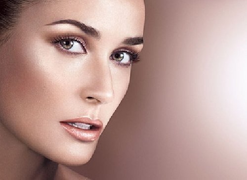 Demi Moore with Oriflame
