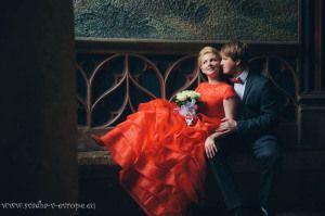 Свадьба в Староместской Ратуше Анны и Романа - 12.3.2015