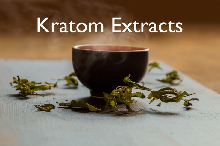 An introduction to the different types of #kratom extracts