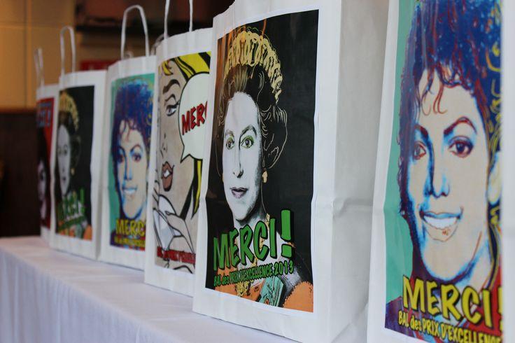 Les sacs cadeaux POP ART !
