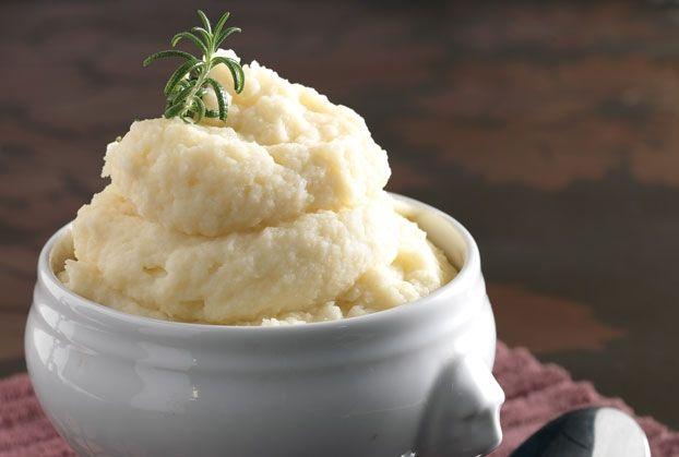 Μεταξένιος πουρές πατάτας