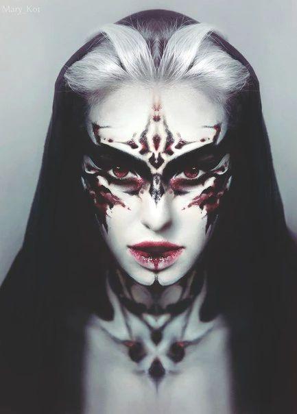 absolutely beautiful model victoria grigorieva photographer masha cte fx makeupmakeup goalsmakeup ideasdevil - Devil Halloween Makeup Ideas