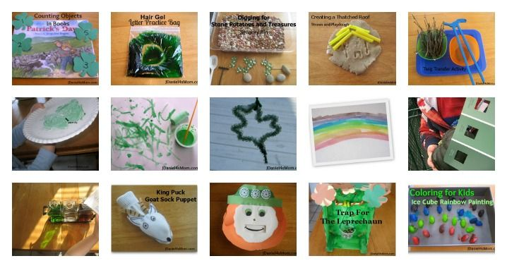 St. Patrick's Day Activity Round Up- science experiments, crafts and learning activities
