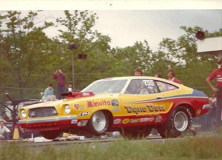 Typical Pro Stock/MP/Super Stock in early 70's. A lot of ...