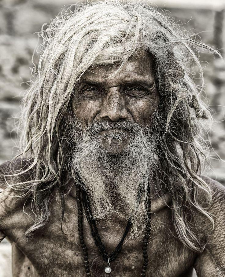 A Sadu pilgrim from Varanasi, India. (Credit: Craig Stevenson/National Geographic Traveler Photo Contest)