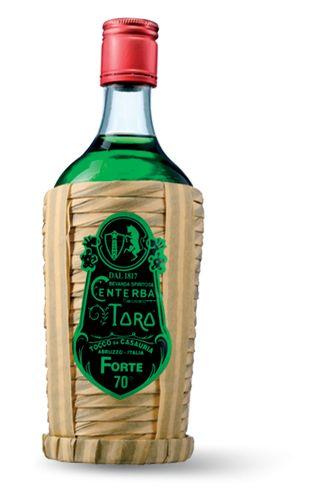 B&R Bevande enoteca Torino - Shop online.  Nato da un farmacista abruzzese nell'inizio 800, questo liquore si presenta in bottiglie da cl. 70 con una gradazione alcolica di 70%. Liquore di color verde acceso dovuto all'intensa presenza di radici e piante officinali che, una volta lavorate, creano un liquore dal gusto deciso ed aromatizzato.