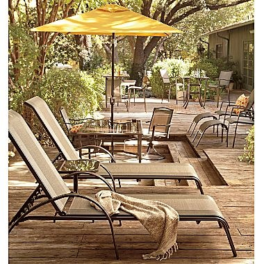 Patio Furniture Stackable Chaise Loungers Set 2 Jcpenney Outside Landscaping Pinterest