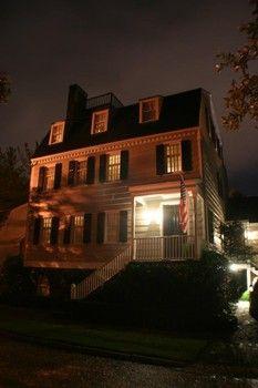 "#3 on the list of ""Top 13 Most Haunted Spots in Savannah"" … Hampton Lillibridge House"