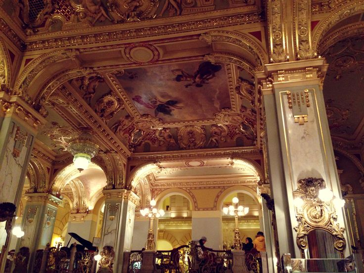 Inside New York Palace, Budapest (Emily Dahl)