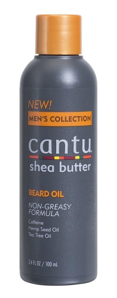 Cantu Shea Butter Men's Collection Beard Oil, 3.4 Fluid Ounce #Cantu