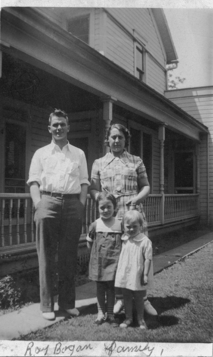 old family photos | Ray Bogan and family (1930s) | old ...