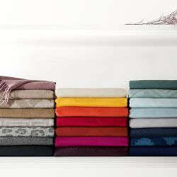 Cotton Throws, Cashmere Throws & Decorative Throws | Williams-Sonoma