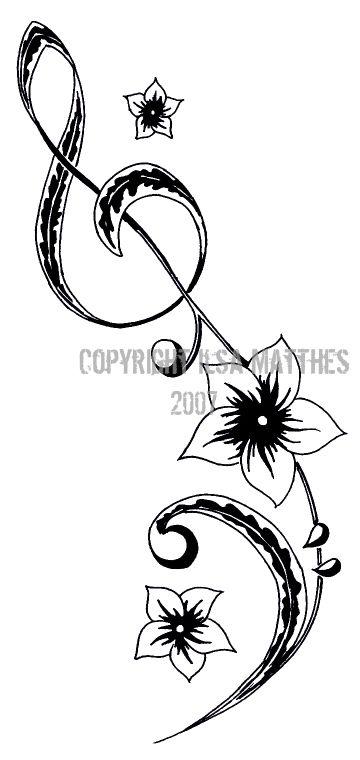 Music tattoo tattoo design tattoo patterns| http://awesome-tattoo-pics.blogspot.com