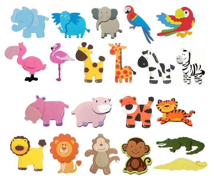baby jungle animal cutouts custom designs sara s handmades baby