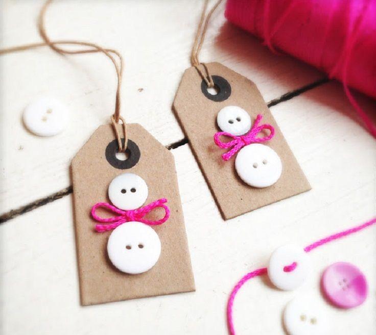 Top 10 DIY Christmas Gift Tags