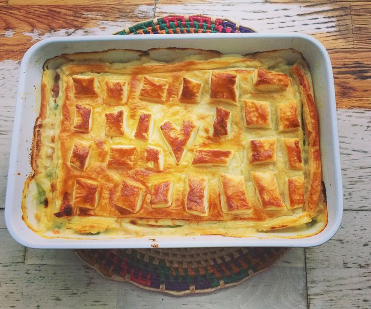 Ever wanted to try some quintessential American fare? Look no further with this simple chicken pot pie recipe, customizable to every taste.