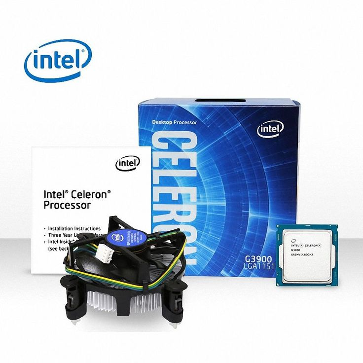 Intel Core Celerlon G3900 6th Processor Dual Core Skylake LGA 1151 2.8GHz 2M CPU #Intel