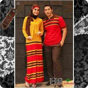 Baju Gamis Couple(Gamis Pasangan) Murah Terbaru