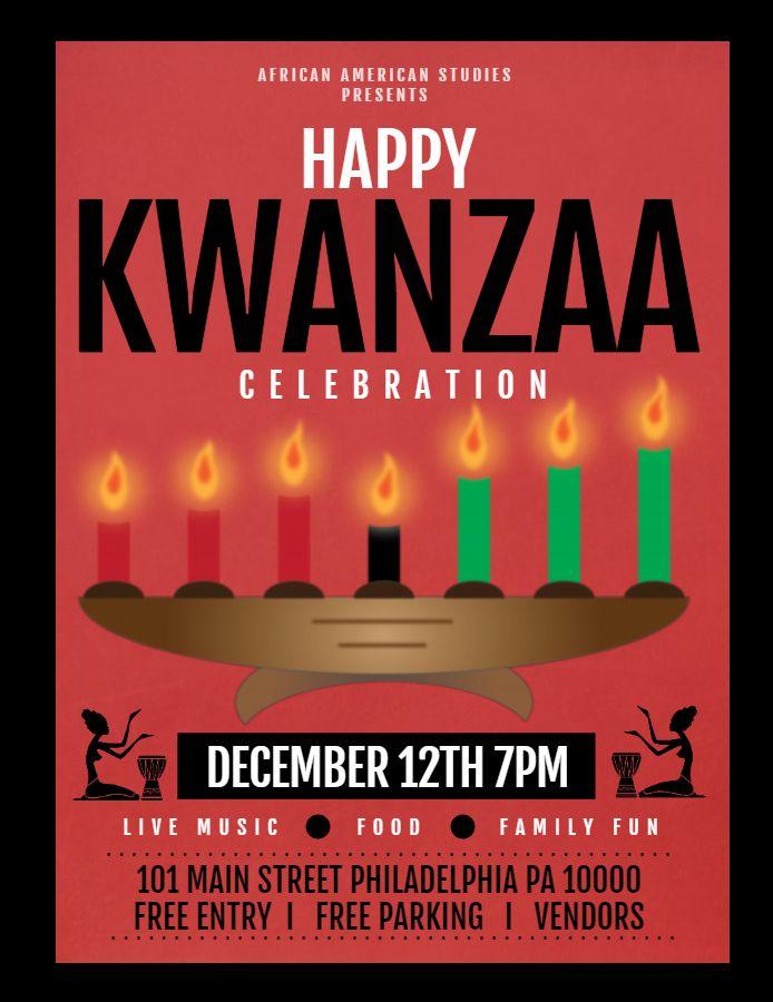 Kwanzaa Flyer Kwanzaa Happy Kwanzaa Event Flyer Templates