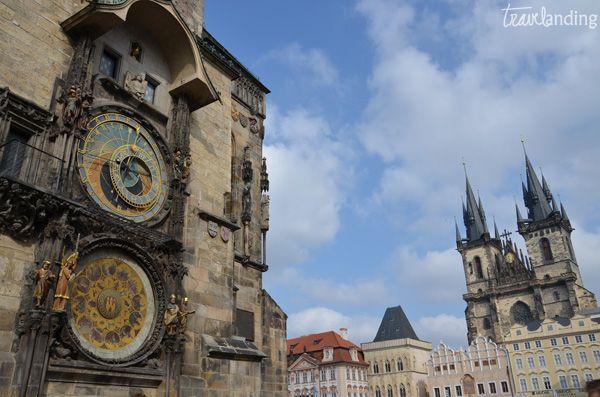 reloj astronomico.Praga en dos días