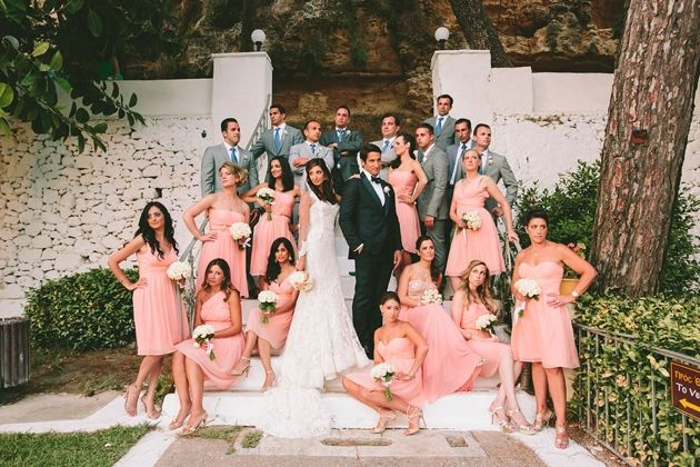 Wedding Party Post Ceremony Photo shooting for a Wedding In Messinia -  Greece by Stella & Moscha -Photography: Thanos Asfis