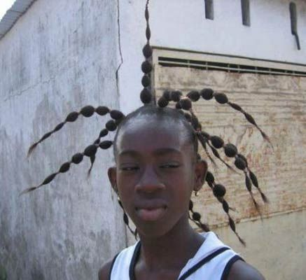 picture of ghetto hair style