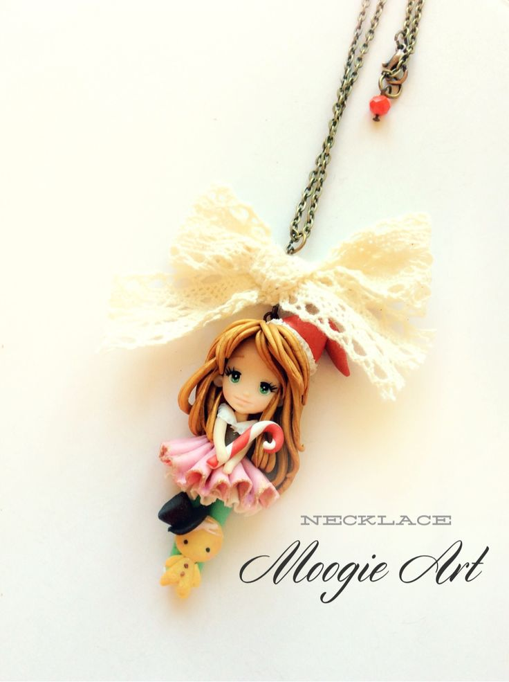 Christmas doll  By Moogie Art