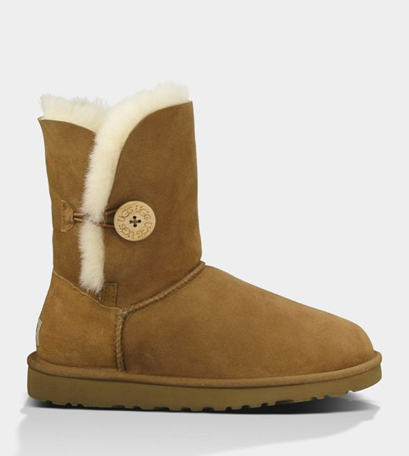 UGG BAILEY BUTTON CHESTNUT FOR WOMEN