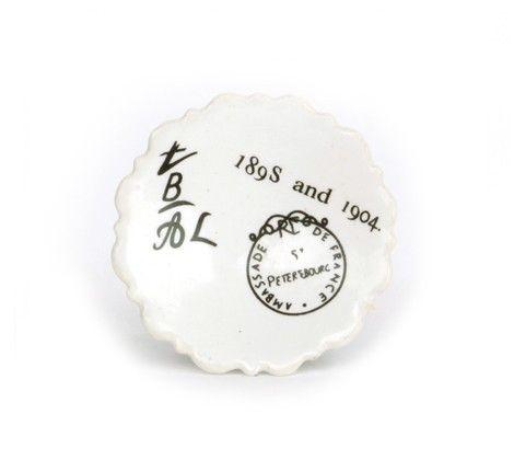 bouton de meuble impression 1904 en porcelaine 6 50. Black Bedroom Furniture Sets. Home Design Ideas