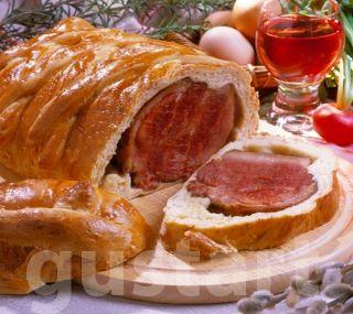 Lajos Mari konyhája - Tésztában sült húsvéti sonka