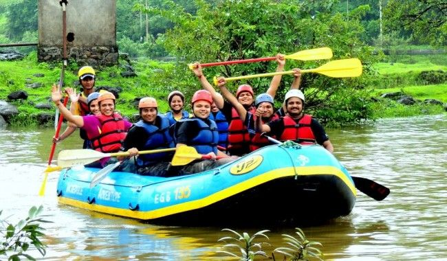 Kolad River Rafting >>> River Rafting at Kundalika river in #Kolad, is about 4 hrs drive from Pune and #Mumbai. White Water #Rafting in #Kundalika Kolad is controlled by the release of the Dam on the Kundalika River and offers Grade II and Grade III rapids (Higher the Grade, higher the level of difficulty).