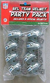 New! Seattle Seahawks Team Helmet Party Pack #SeattleSeahawks