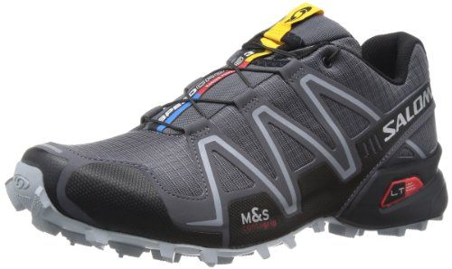 Salomon Men's Speedcross 3 Trail Running Shoe - http://authenticboots.com/salomon-mens-speedcross-3-trail-running-shoe/