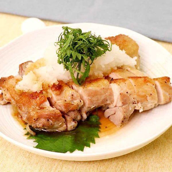 ポン酢 鶏 もも肉