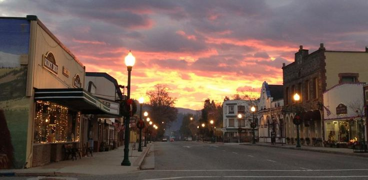 "Quincy. Ca in Plumas County, voted one of the top 10 ""Coolest Small Towns"" of 2013"