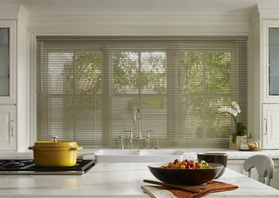 Wooden Blinds Modern Kitchen Curtains | Home Interiors