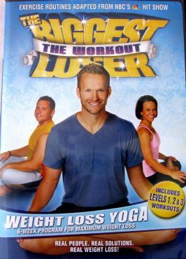 DVD Review: The Biggest Loser Weight Loss Yoga, this is one of the best/hardest yoga dvd's!  You get a great 1hour workout and feel so good and stretched afterwards!  I do this at least 1 or 2x's/week!