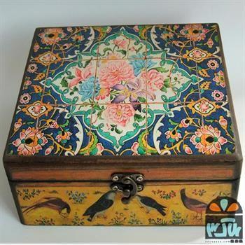 جعبه چوبی لاله عباسی 20*20