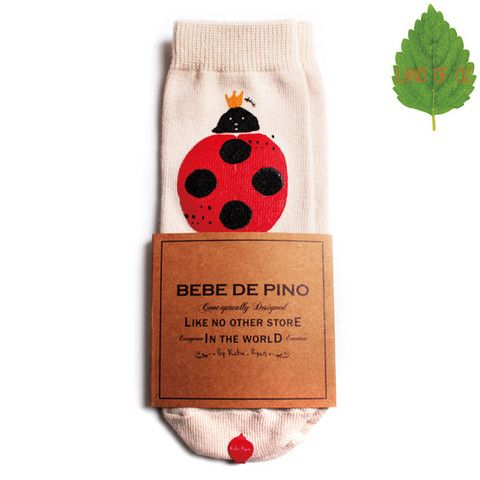 Ladybug knee socks