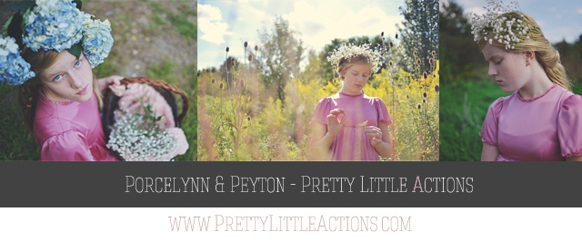 Pretty Little Actions Giveaway and Feature on Rock the Shot Forum