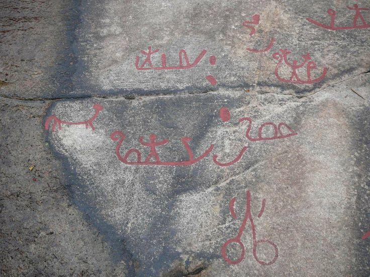Rock Carvings near Fredrikstad Norway
