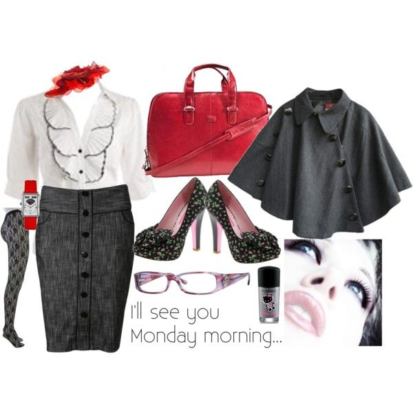 Monday Morning, created by mzlorraine.polyvore.com