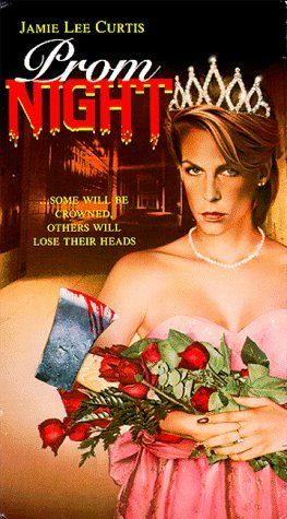 Prom Night (1980)| A masked killer stalks four girls, who were responsible for the death of a child six years before, on the night of their senior prom